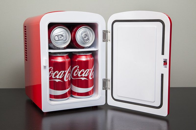 coca cola mini nevera KWC4