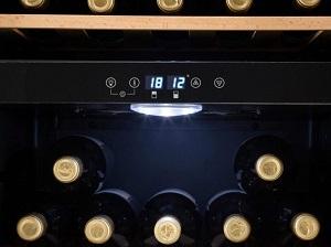 klarstein vinamour control temperatura